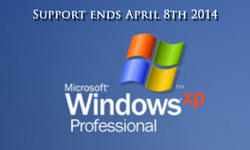 Windows XP Support End!