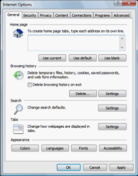 Deleting Cookies In Internet Explorer